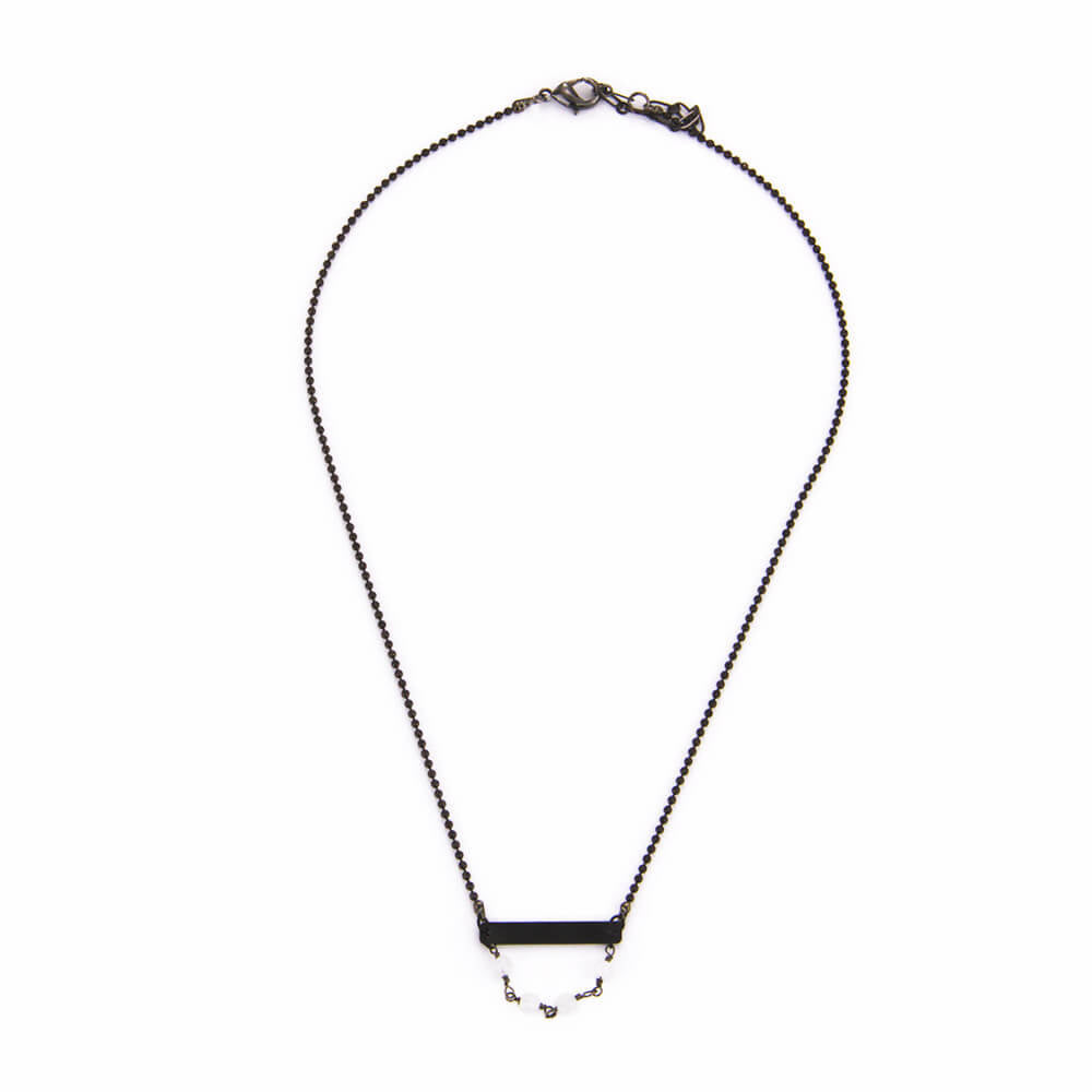 Black Bar Choker