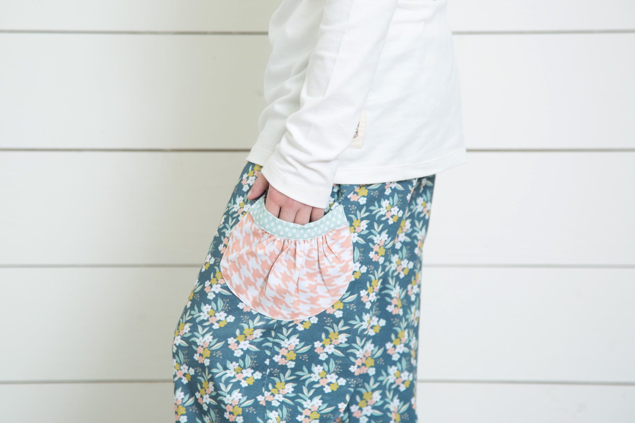 Cuff Pants-Dreamy Floral
