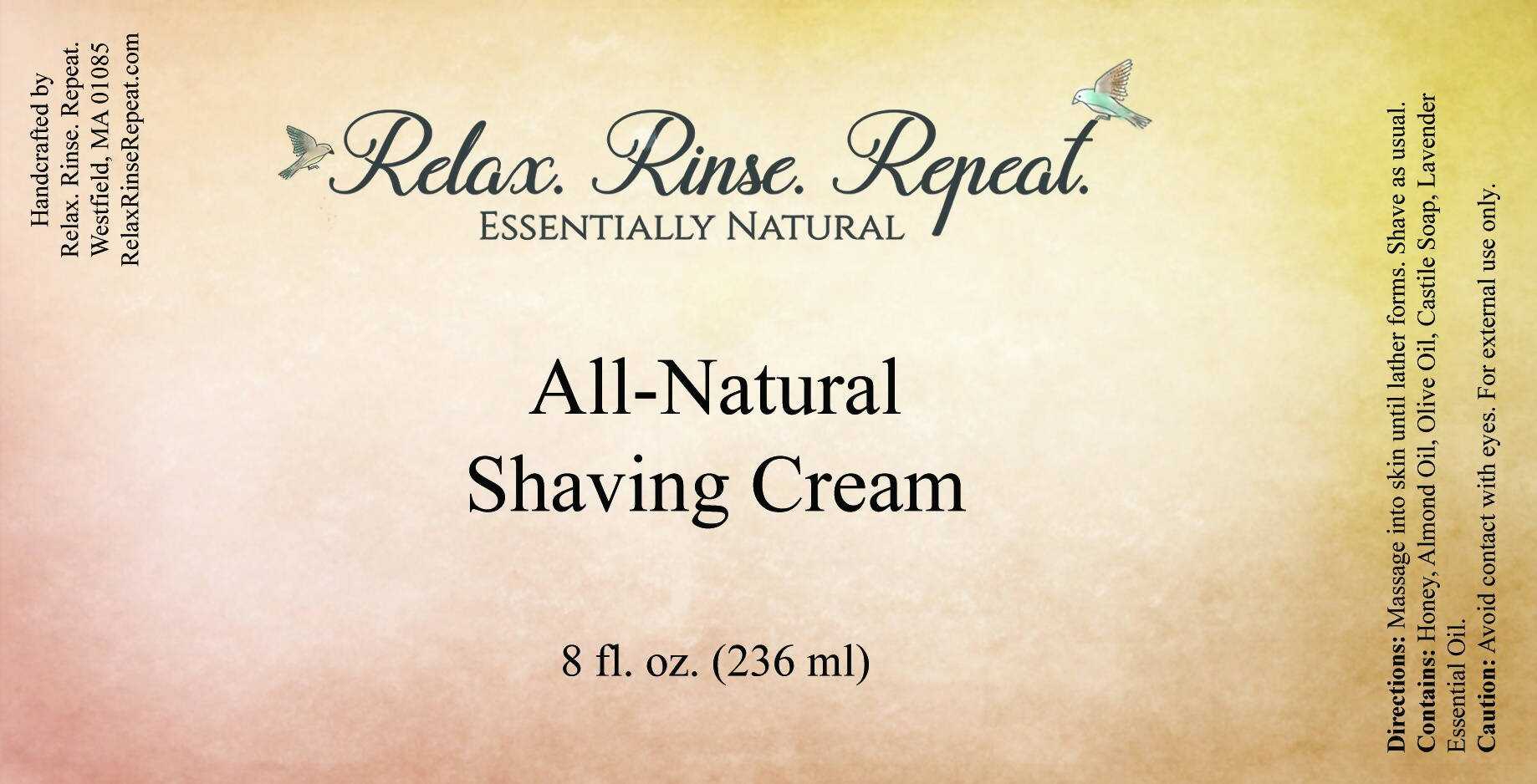 All-Natural Shaving Cream