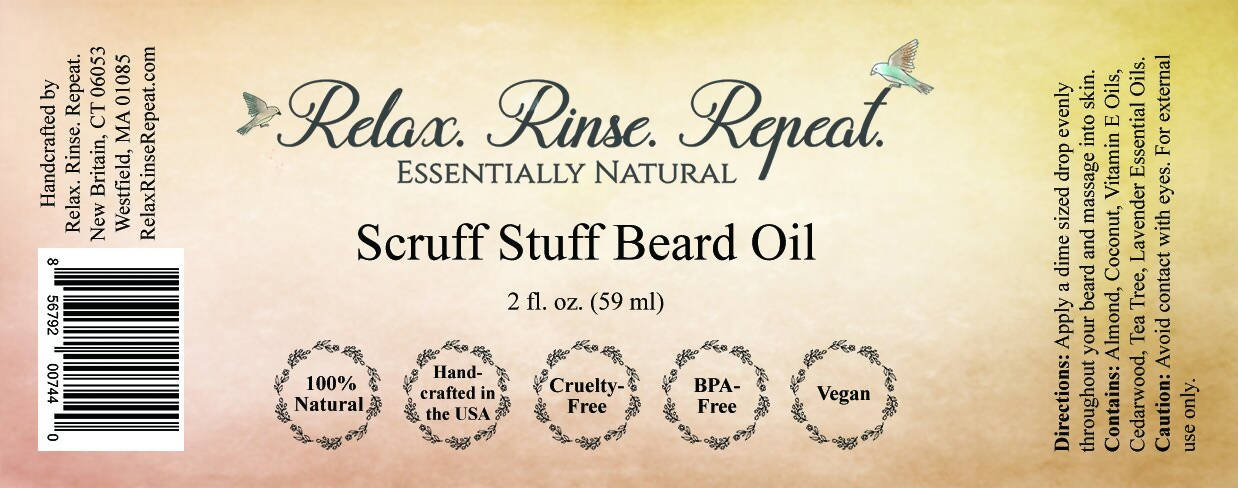 Scruff Stuff Beard Oil