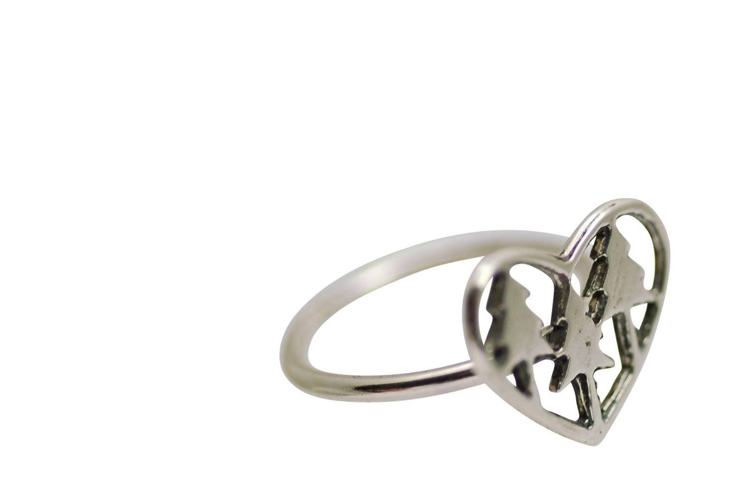 Tiny Tree Love Ring