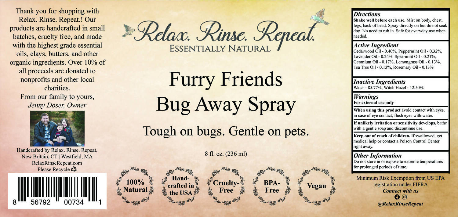 Furry Friends Bug-Away Spray