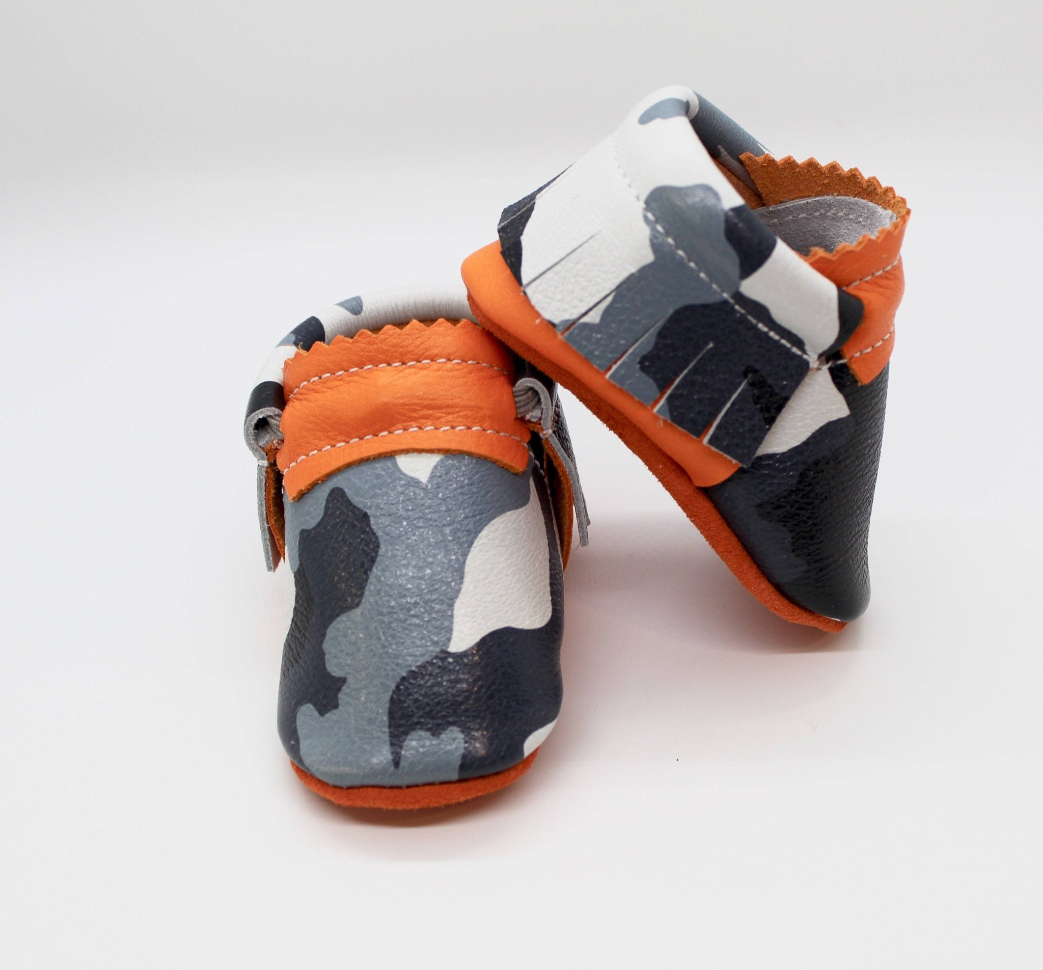 Desert Orange Camo - Moccs