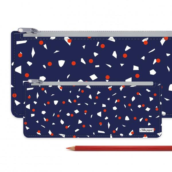 Large Paperlike Pencil Case Blue Parade