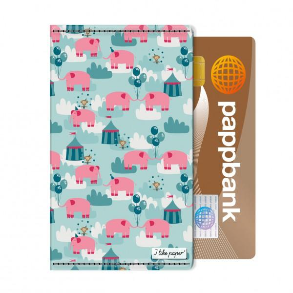Paperlike Card Holder Pink Elephant