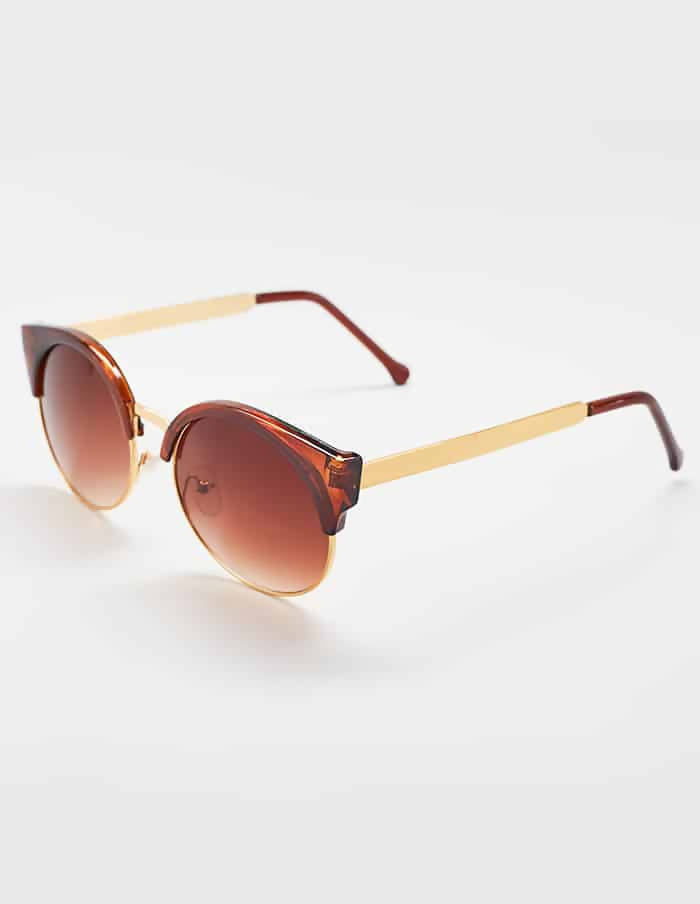 Avery Sunglasses, Brown