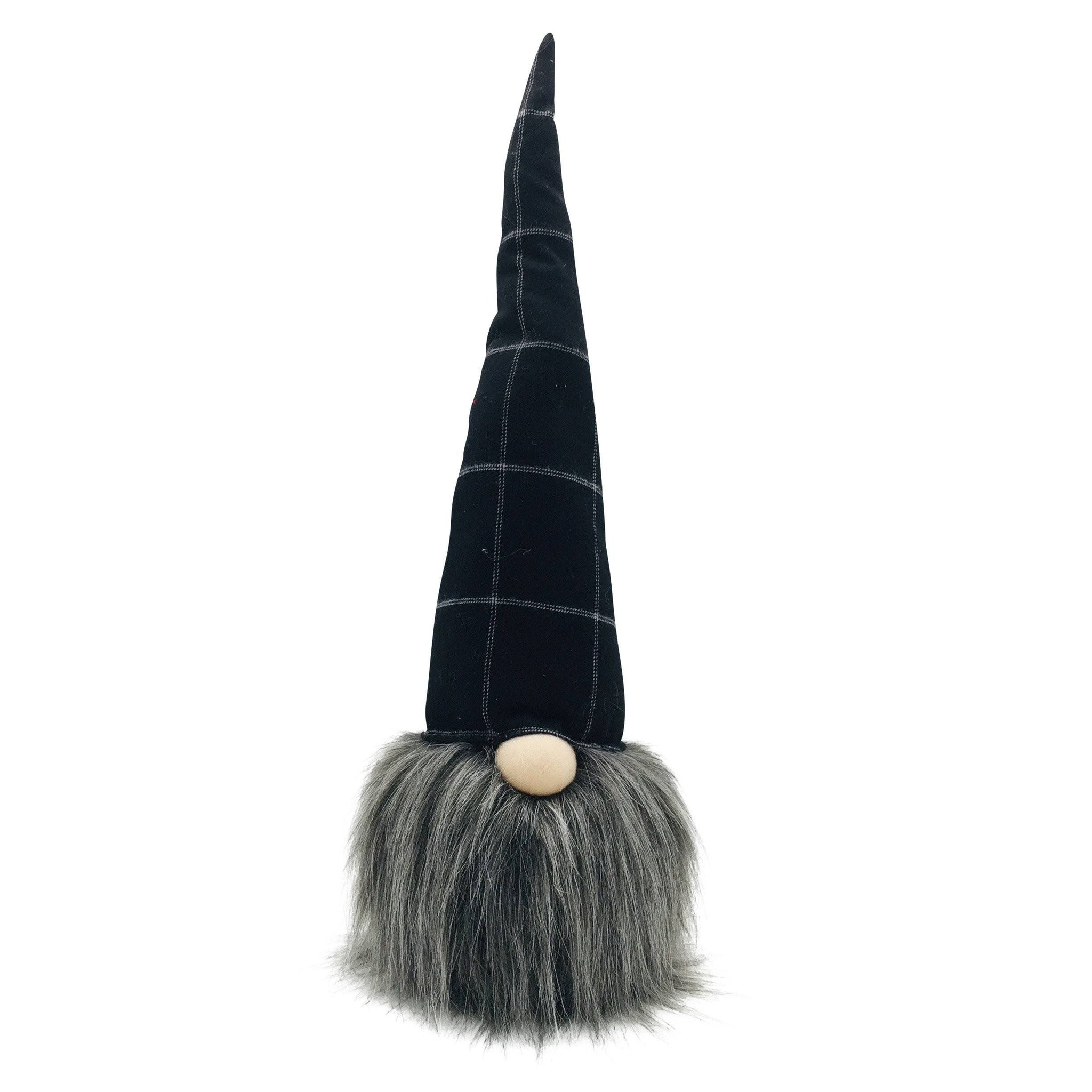 BLACK FABRIC HALLOWEEN GNOME