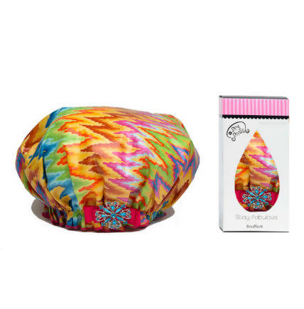 Spring Fling Bouffant Shower Cap