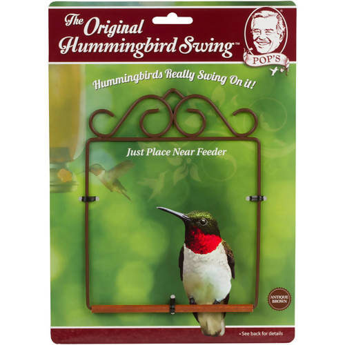 Pops Hummingbird Swing - Original Brown