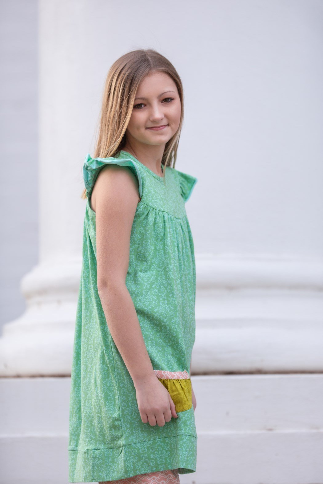Lily's Love Tunic-Damask