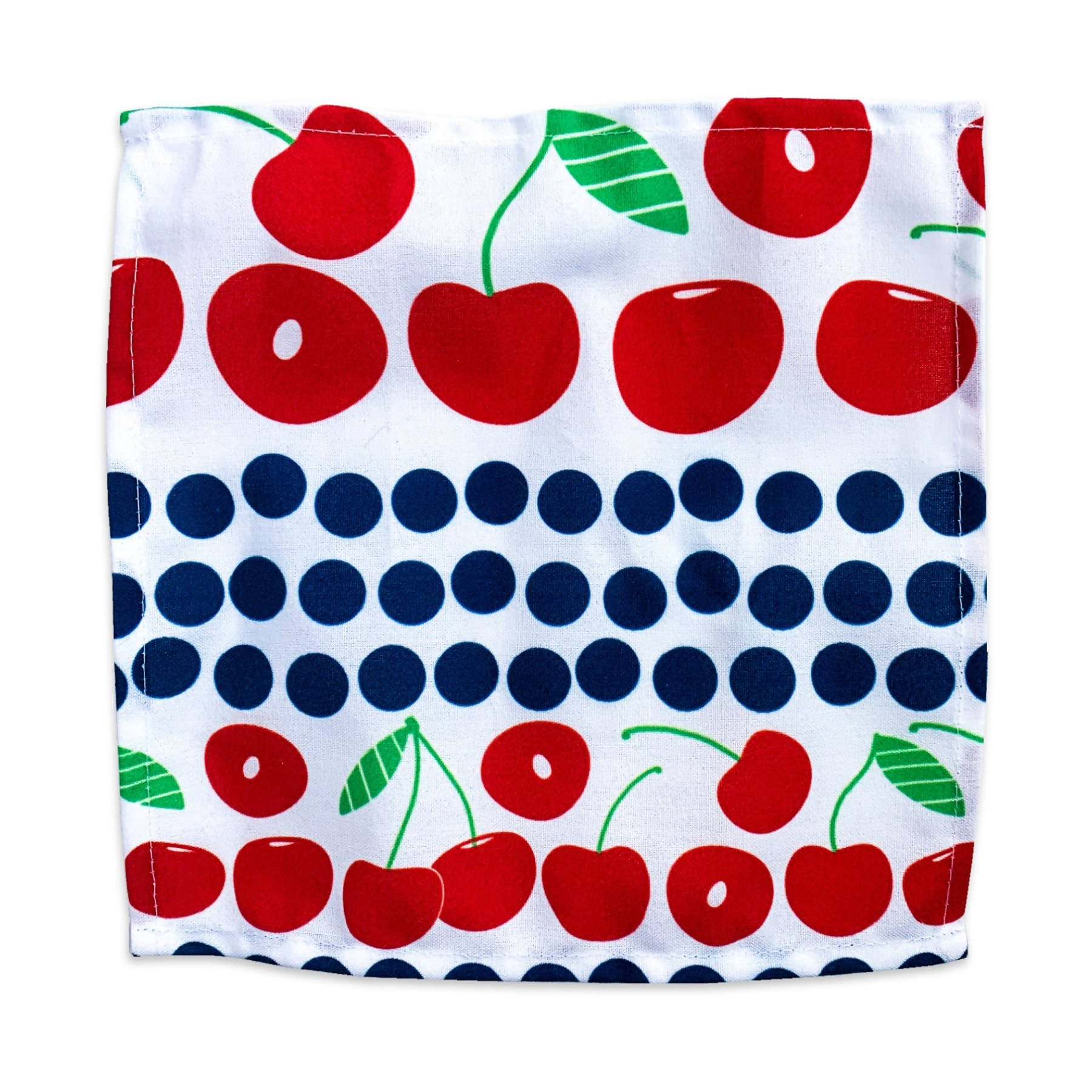 Cocktail Napkins - Cherry & Leaves Set of 4