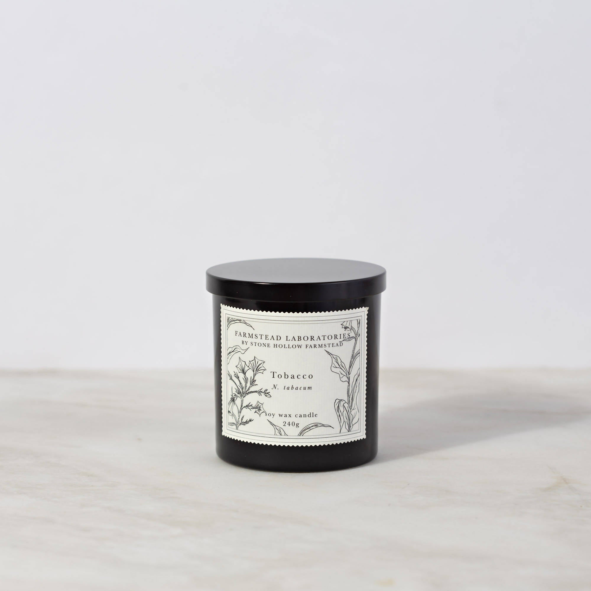 BOTANICAL SOY WAX CANDLE / TOBACCO
