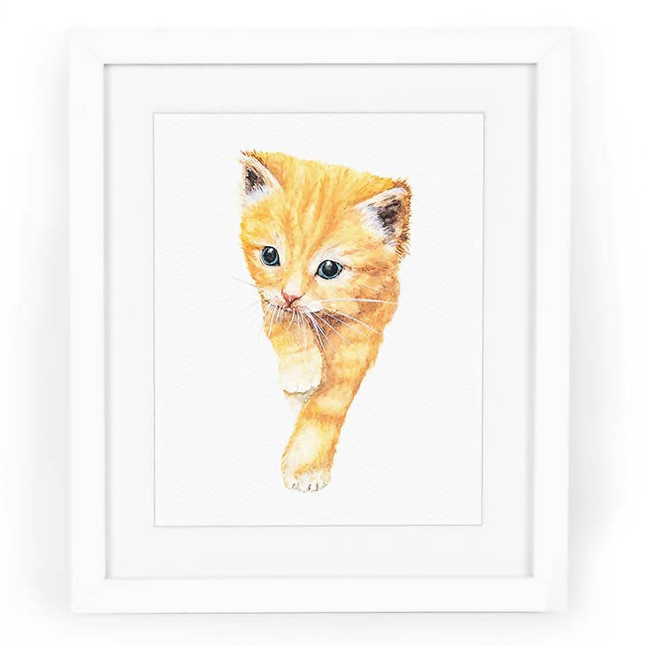 Orange Tabby Art Print