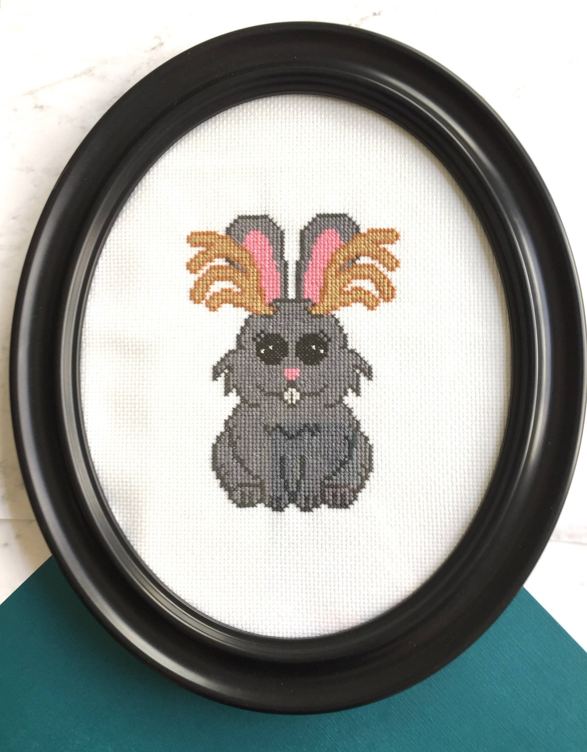 Jackalope Counted Cross Stitch DIY KIT Intermediate