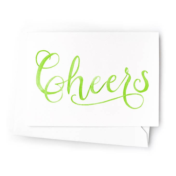 Cheers Mini Cards, Set of 6