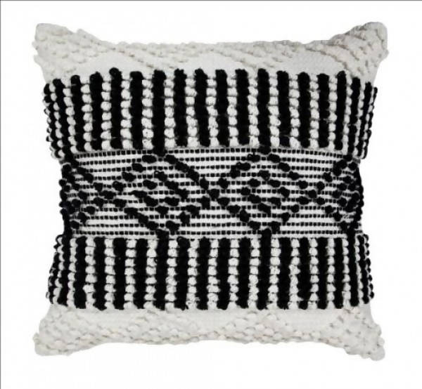 Handwoven Pillow/KC 71 IV BLK 22