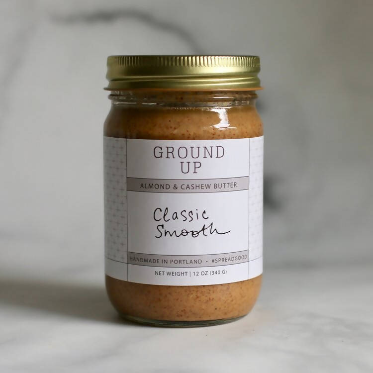 Classic Smooth Almond, Cashew + Coconut Butter (Vegan, Keto + Whole30)