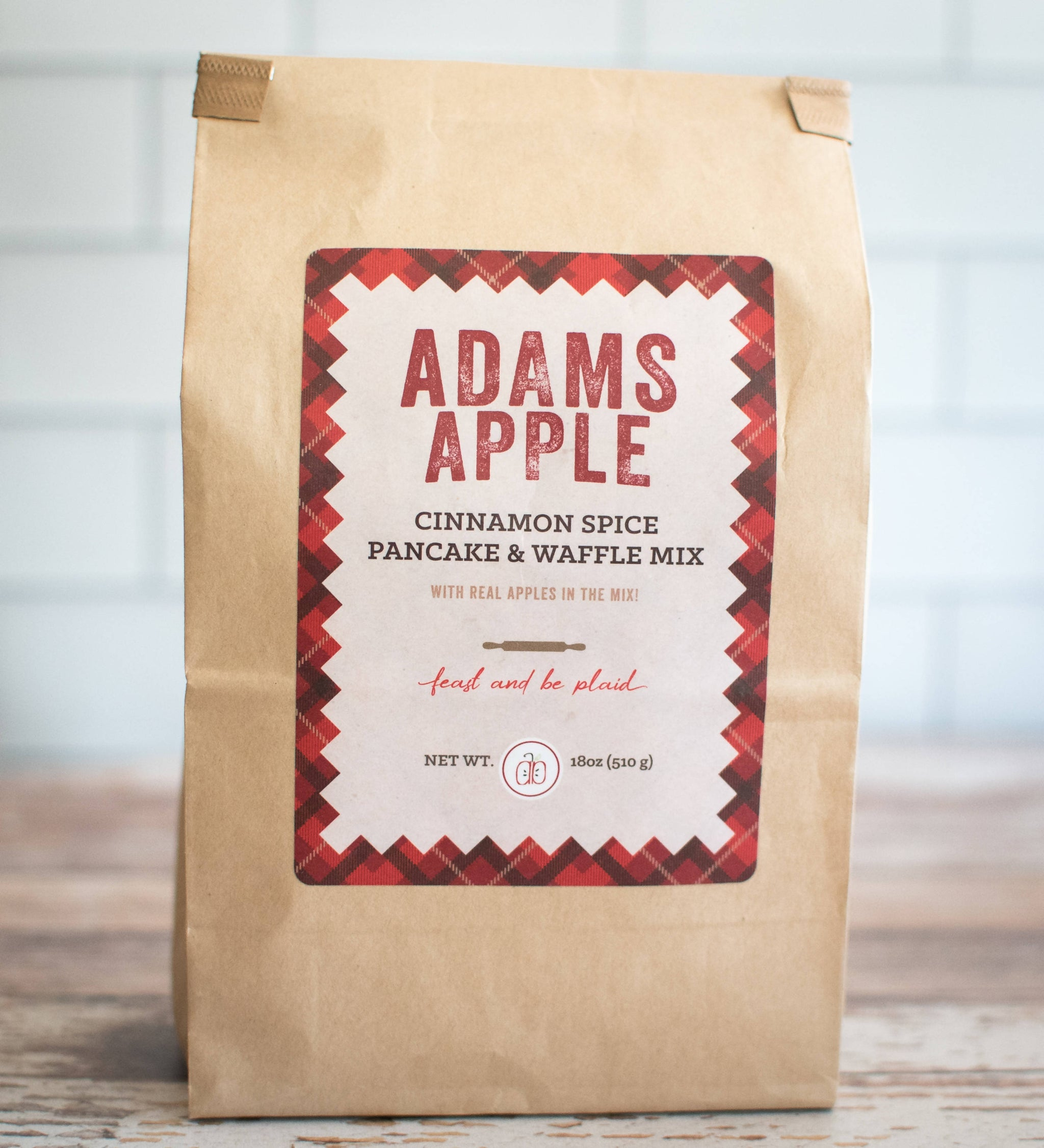 ADAMS APPLE CINNAMON SPICE PANCAKE AND WAFFLE MIX