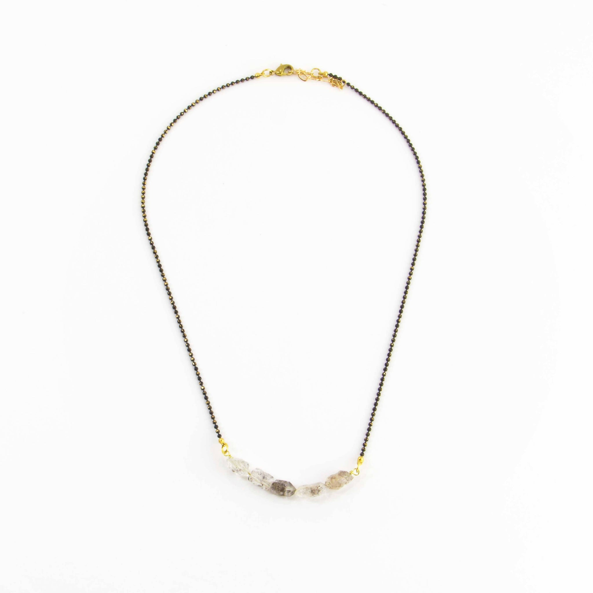 Herkamer Diamond Chunks Necklace