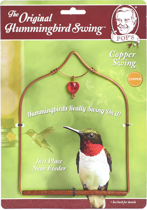 Pops Hummingbird Swing - Copper