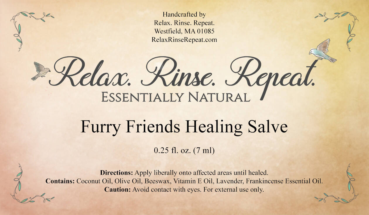 Furry Friends Healing Salve