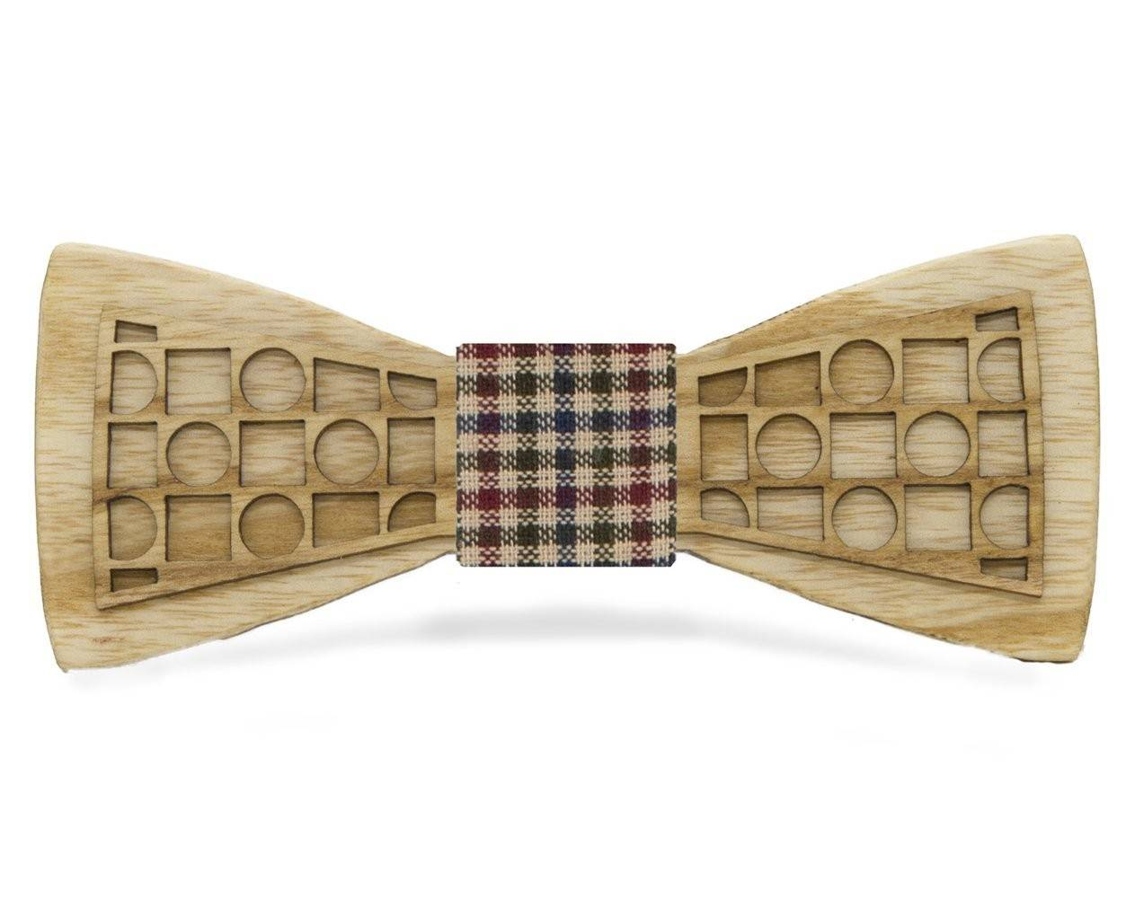 Circles and Squares: Ash Bow Tie