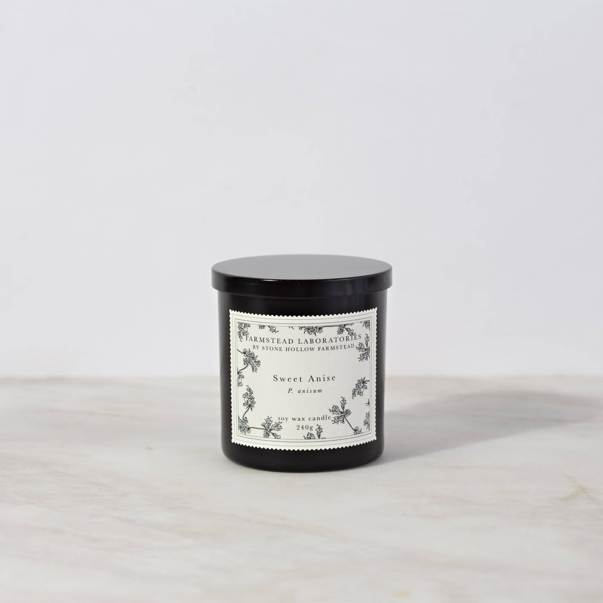 BOTANICAL SOY WAX CANDLE / SWEET ANISE