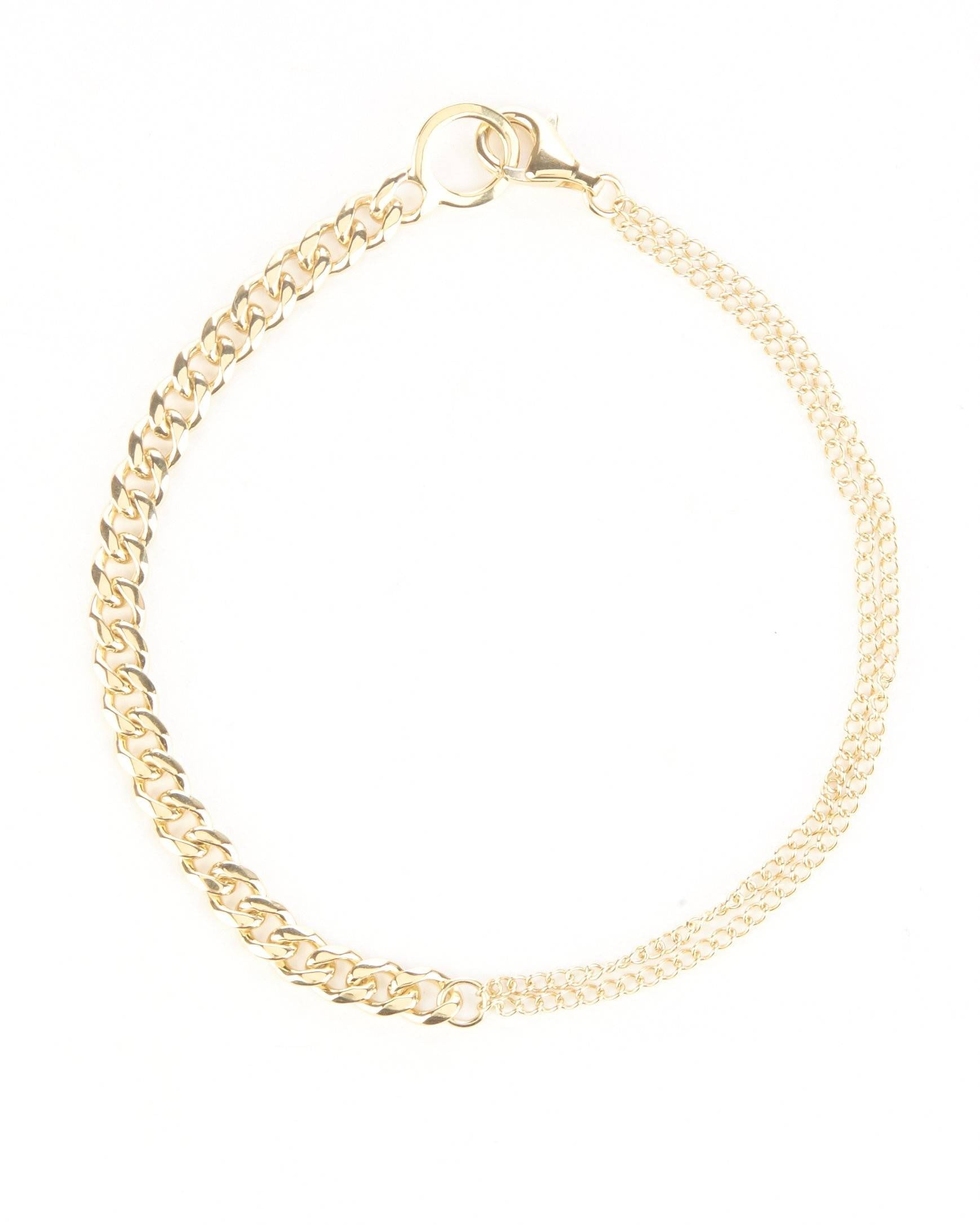 Gold Finisher Anklet