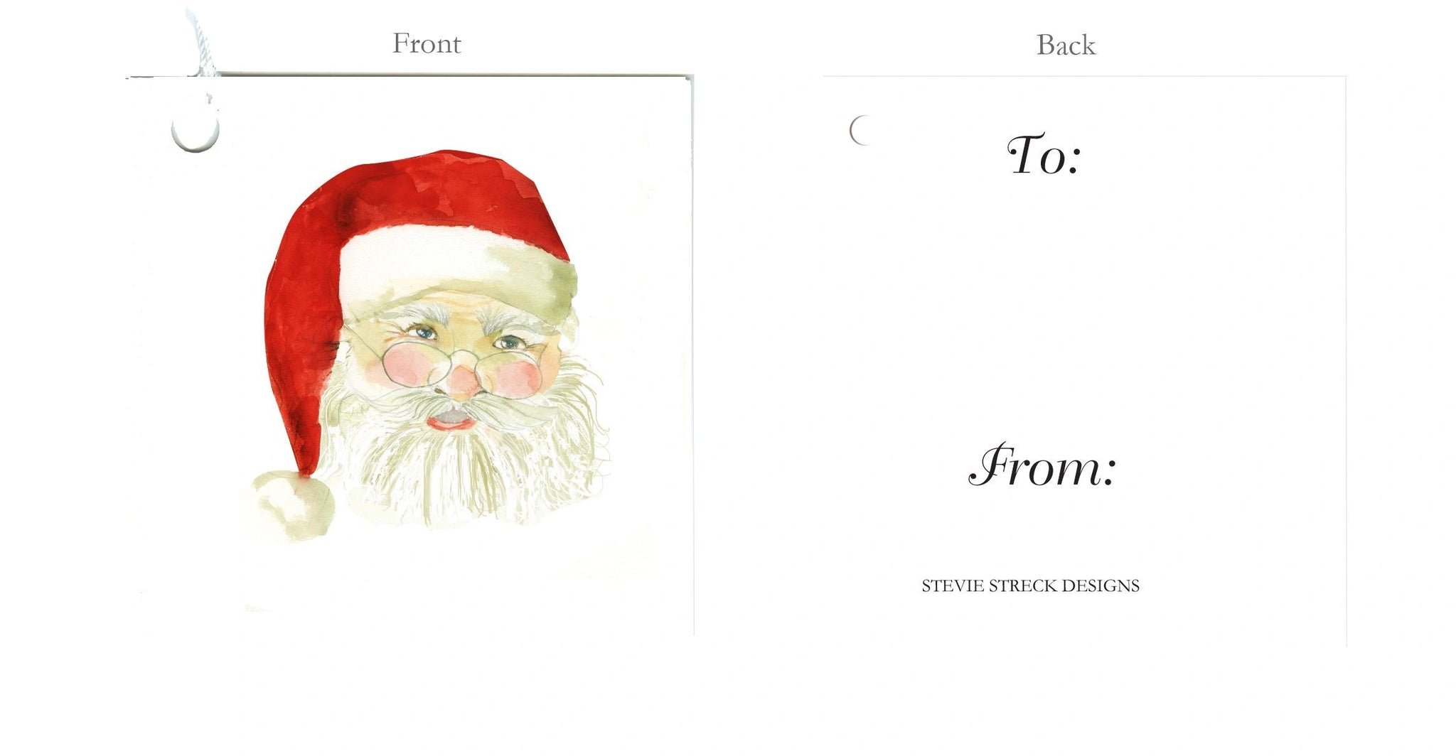 GTF117 Santa Claus pkg of 6