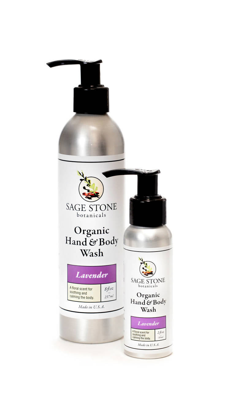 Lavender Organic Hand and Body Wash