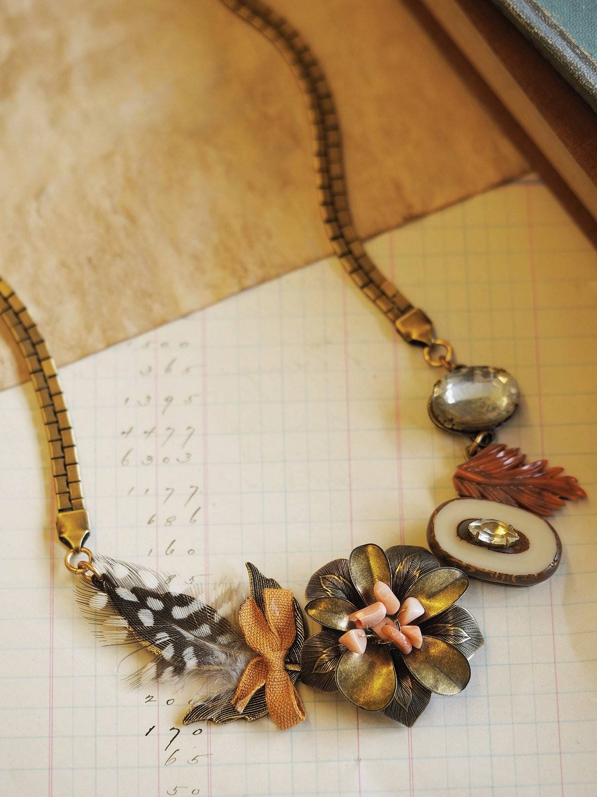 Birds of a Feather Necklace #K05N