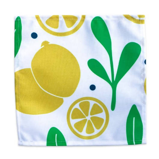 Dinner Napkin - Lemons & Leaves