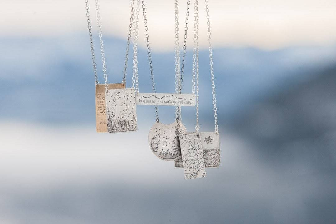 2 Part John Muir Necklace