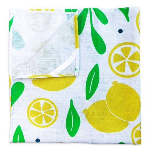 Bar Towel - Lemons & Leaves