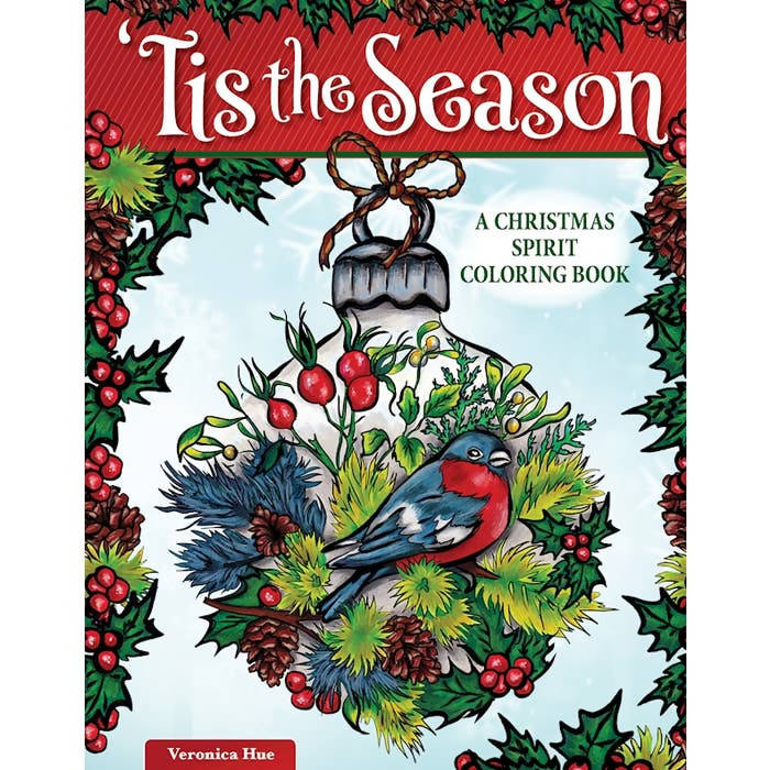 Tis the Season Coloring Book