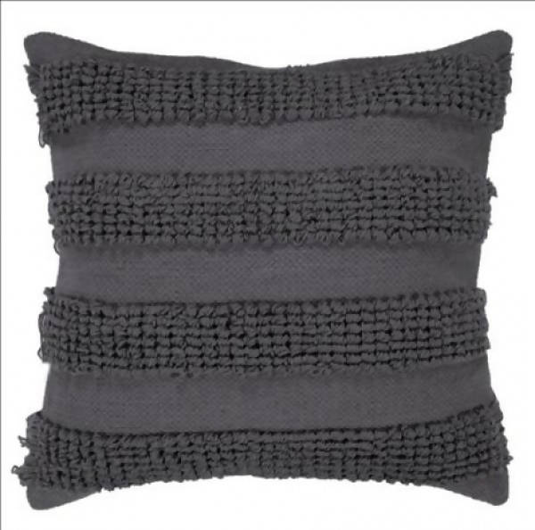 Handwoven Pillow/KC 36 GREY 22