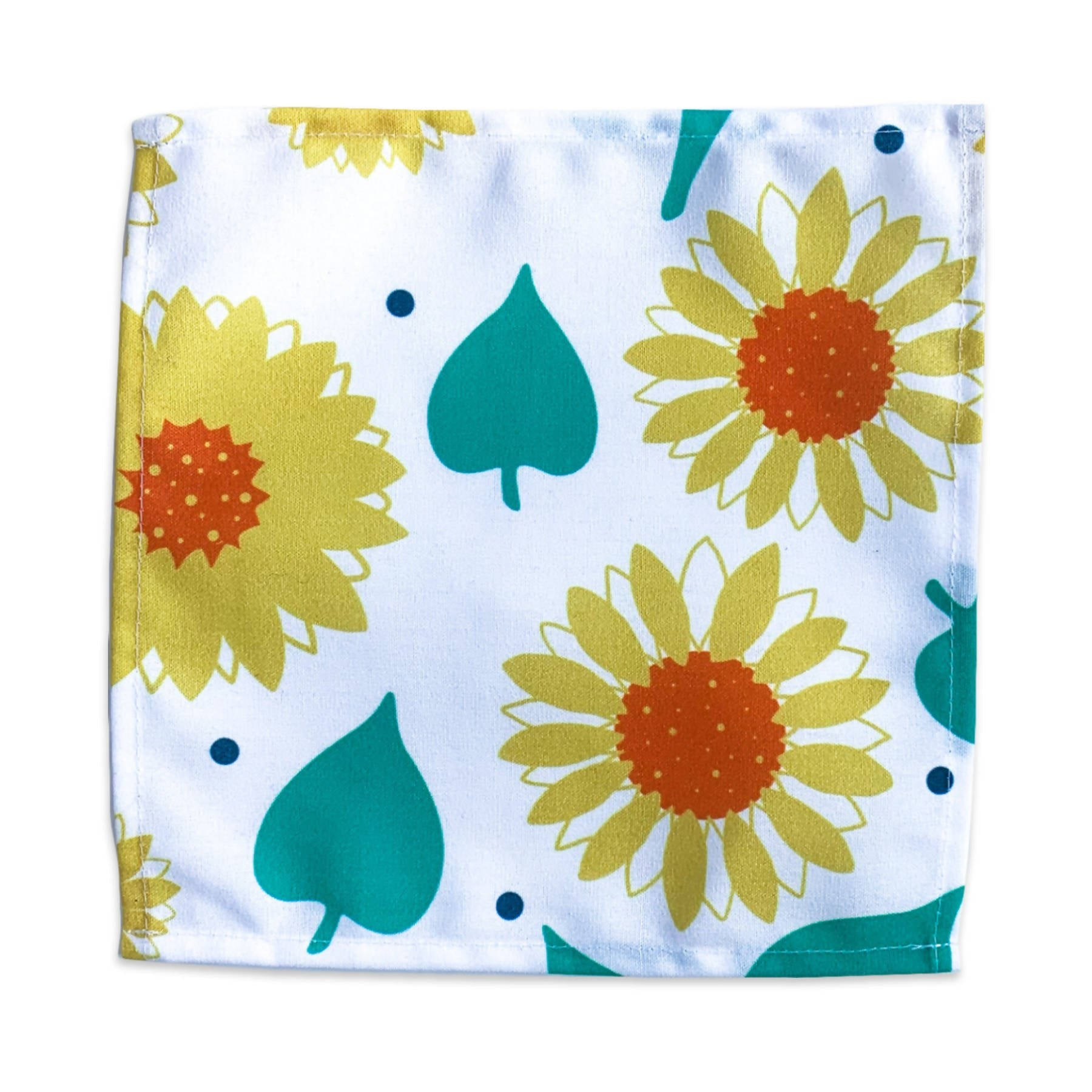 Dinner Napkin - Sunflowers & Leaves
