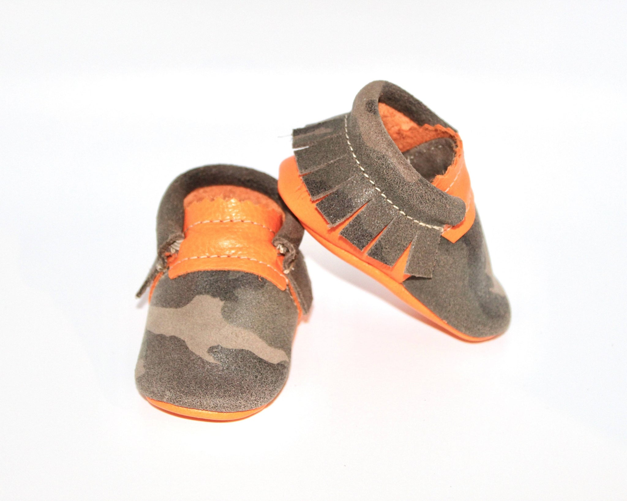 Sunkissed Camo - Moccs