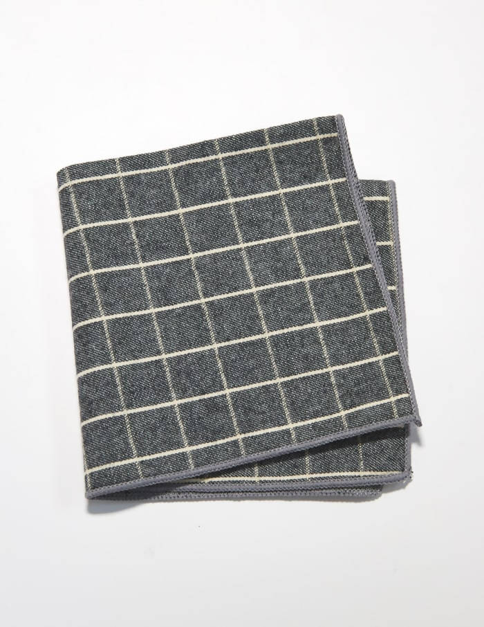 Chambray Pattern Pocket Squares