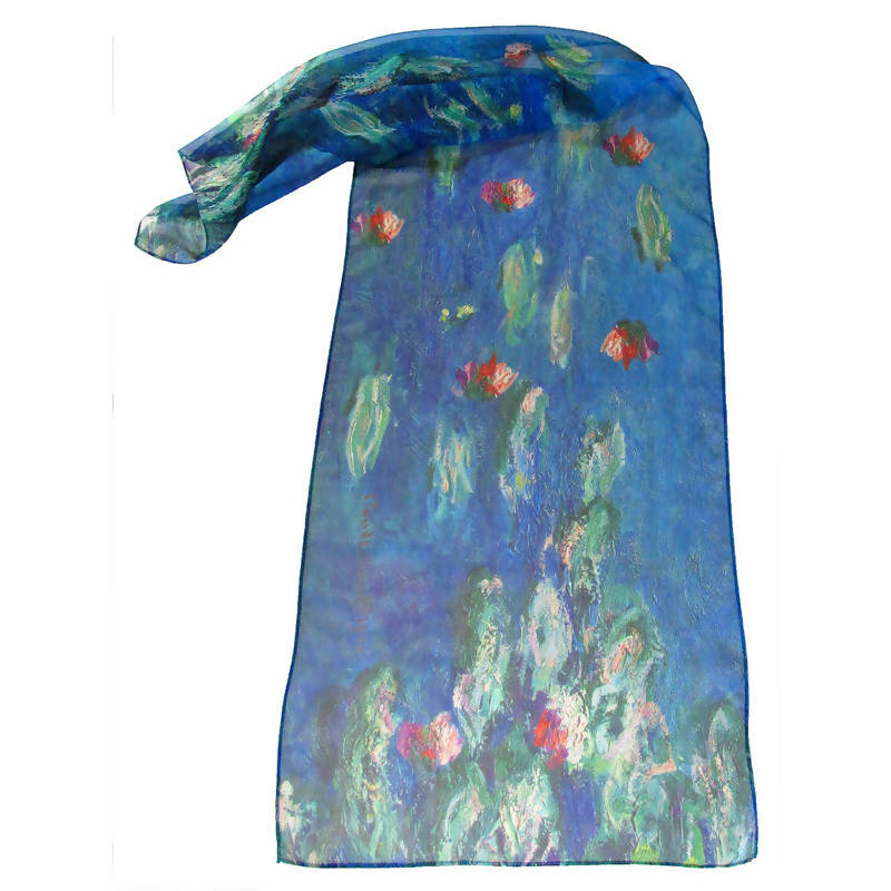 Monet Water Lilies 1 Scarf
