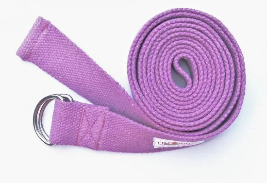 OMSutra Yoga Strap - D Ring 10'