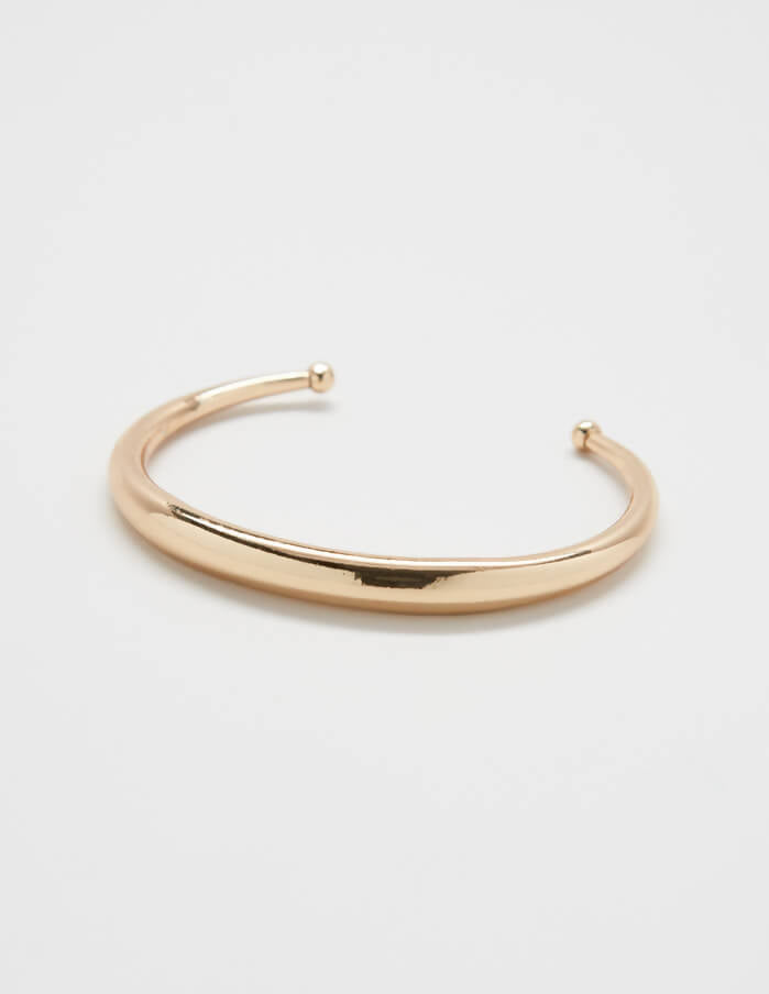 Gold Wide Band Cuff