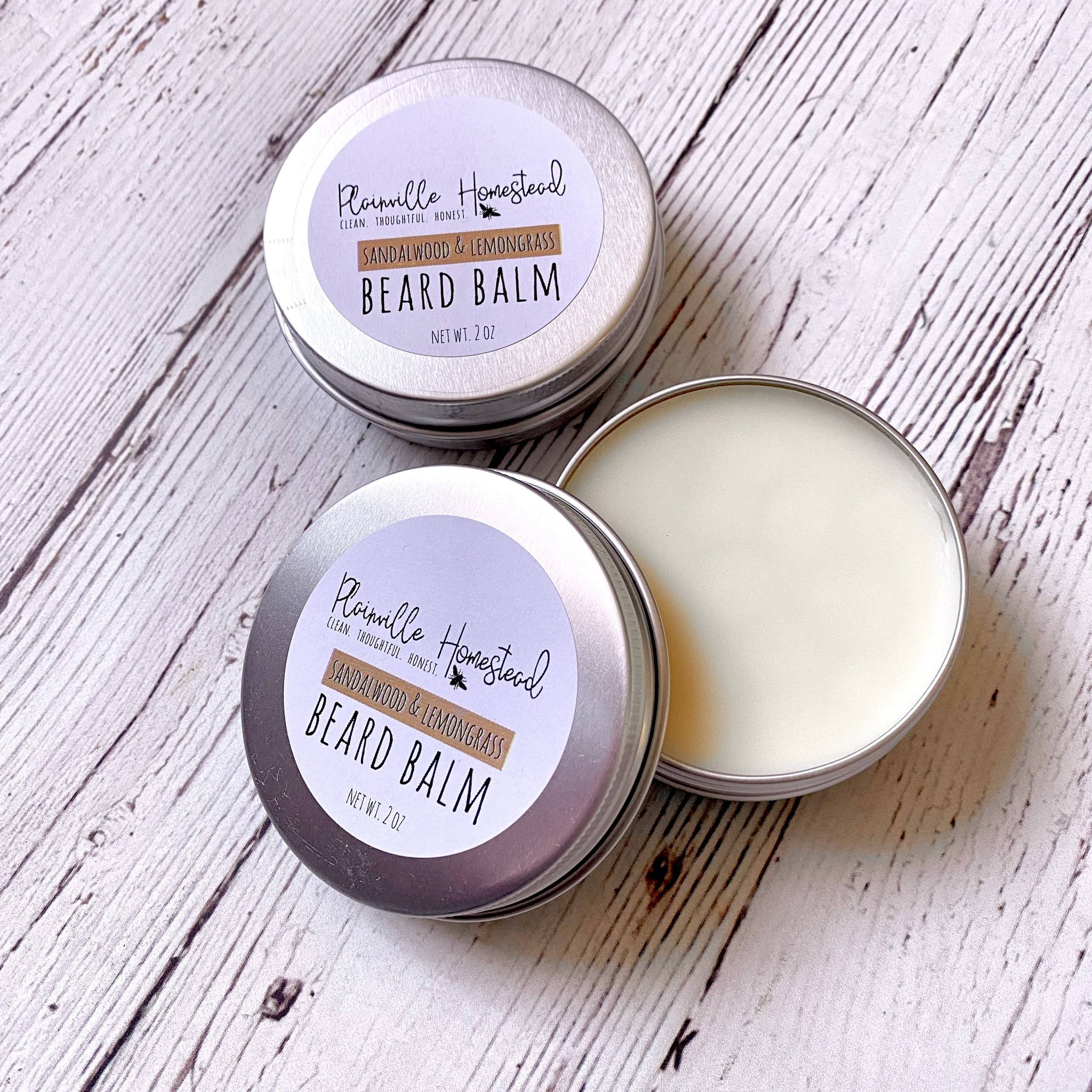 Sandalwood & Lemongrass Beard Balm