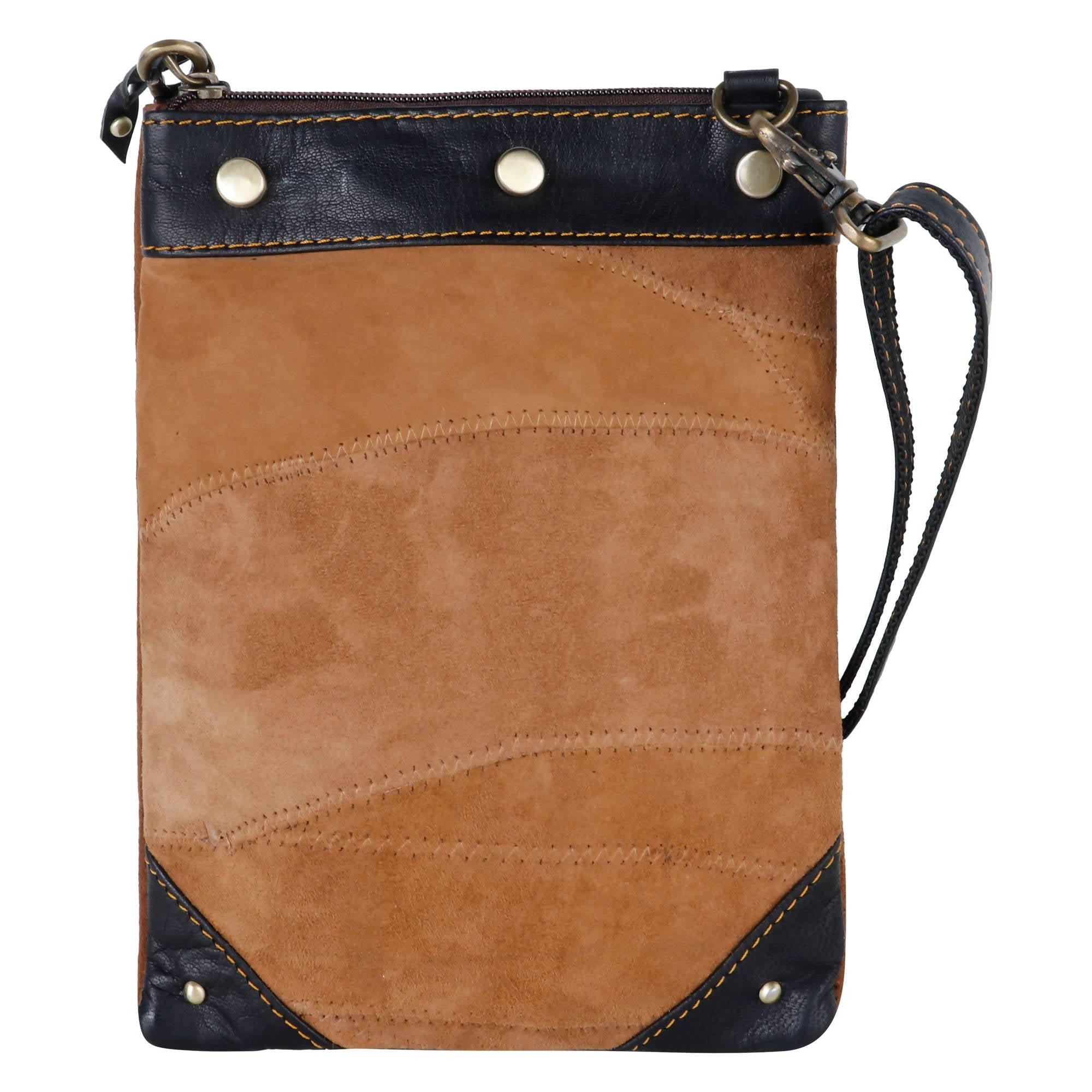 Tribecca - Upcycled Genuine Leather