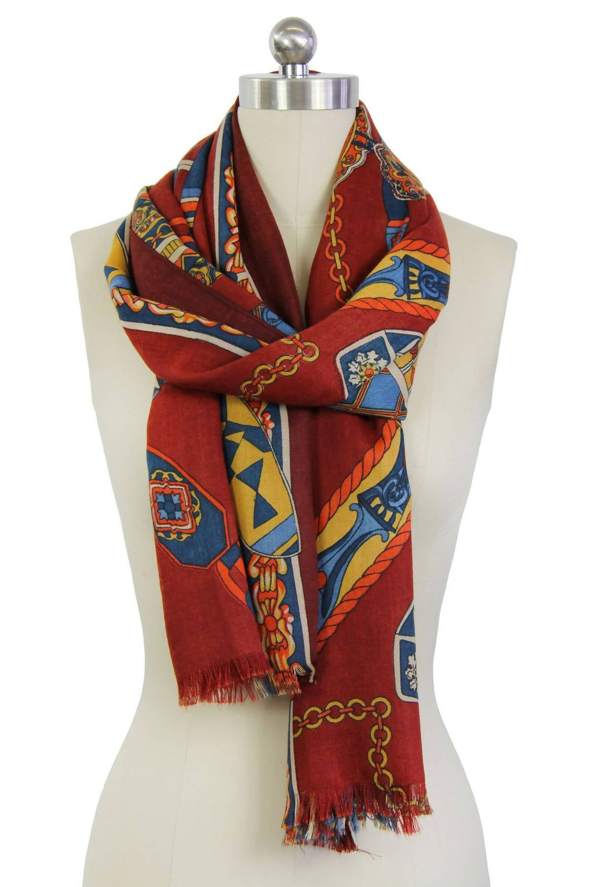 In the Wild Mixed Print Scarf