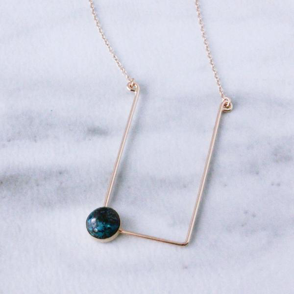 Corner Cab Necklace