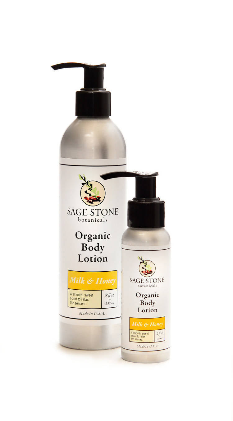 Milk and Honey Organic Body Lotion