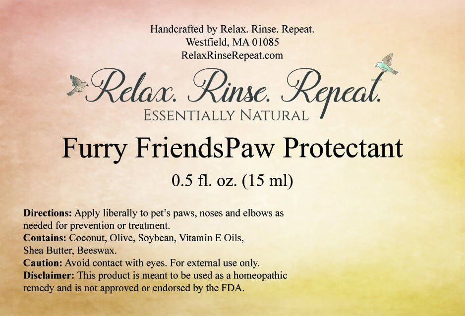 Furry Friends Paw Protectant