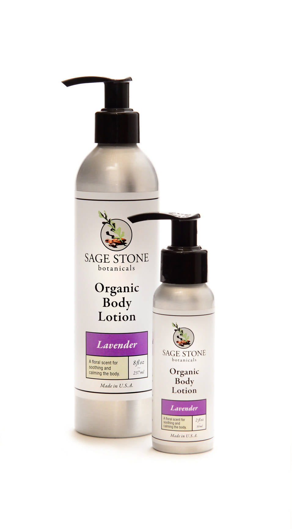Lavender Organic Body Lotion