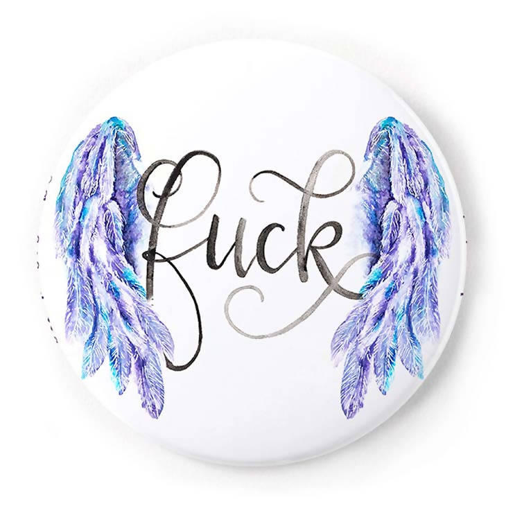 Flying Fuck 2 Inch Pin-Back Button
